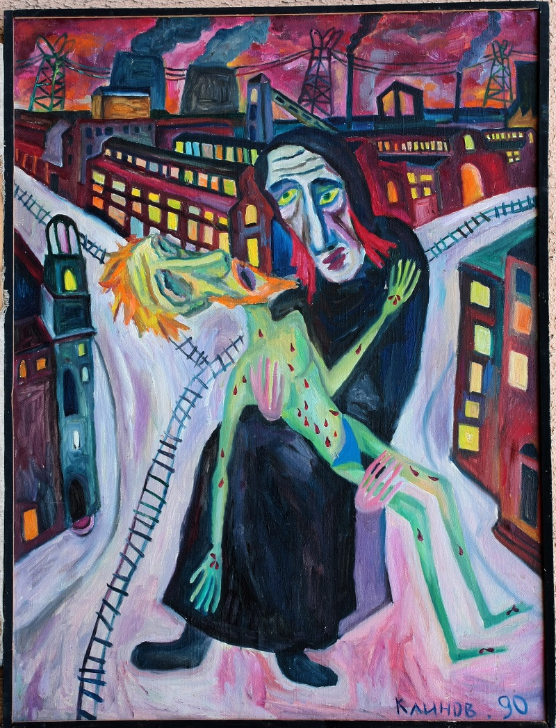 """""""Pieta"""" /1990"""